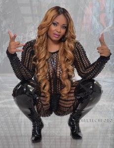 Rapper Ms Tish Drops Hard Bars On Boss Record