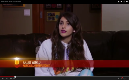Anjali World Talks Music With Urban Asian