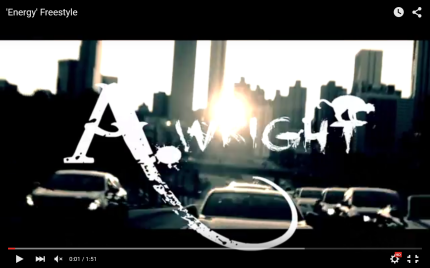 Video: A.Wright - Energy Freestyle